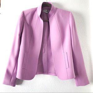 Tahari jacket purple coat size 2 P